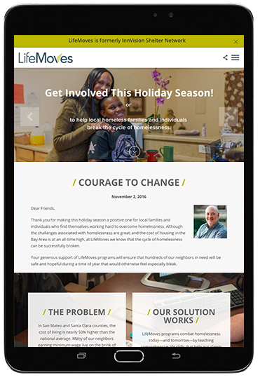 Website Lifemoves Nonprofit