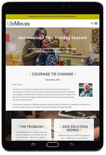 Website Lifemoves Nonprofit