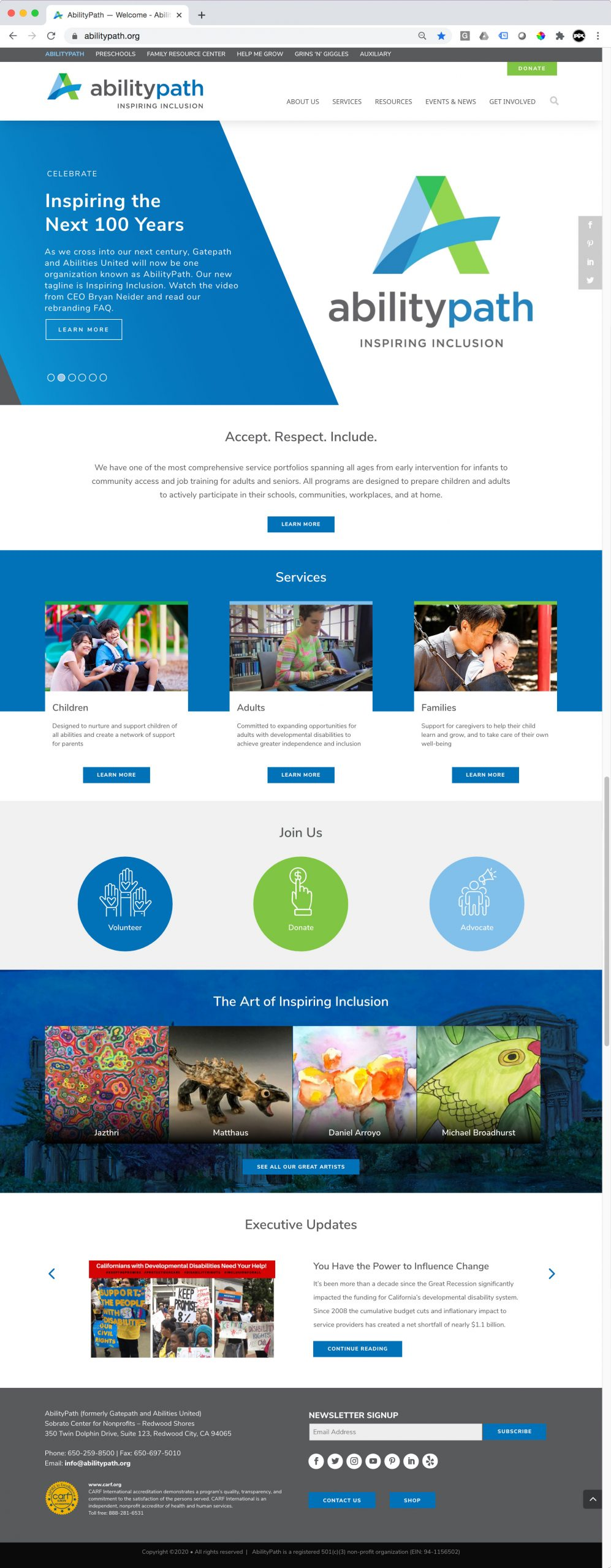 Abilitypath Website